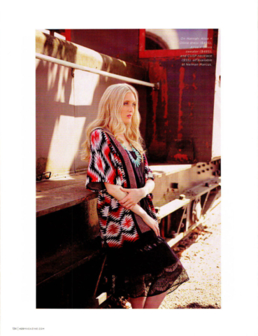 Seattle Fashion Model - Hannah Larson - The Healthful Model 425 Magazine Editorial On the Run