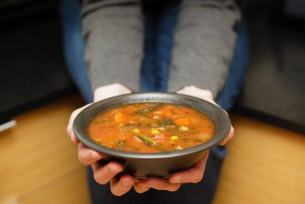 Easy One Pot Vegetable Soup