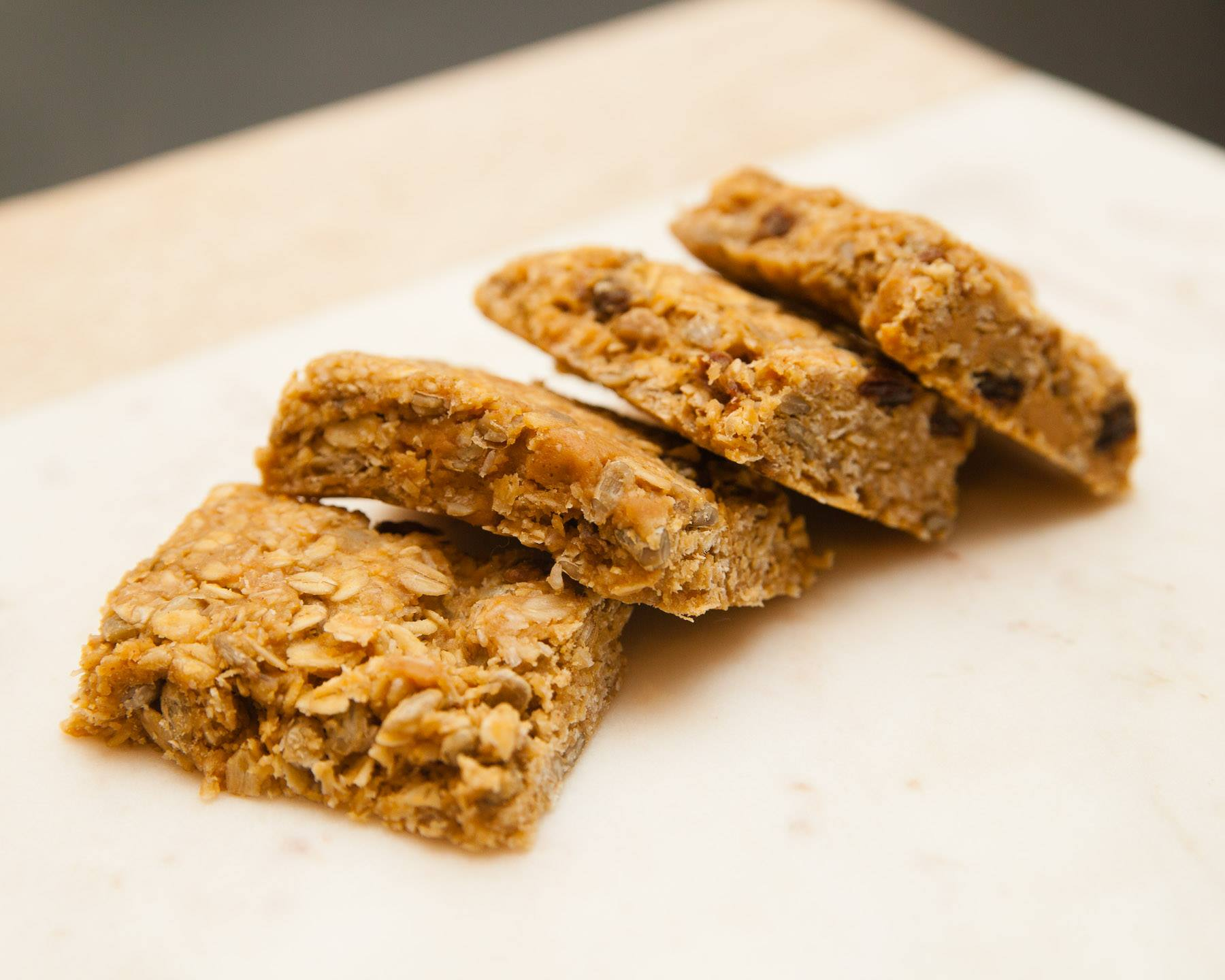 Healthy Peanut Butter Granola Bars