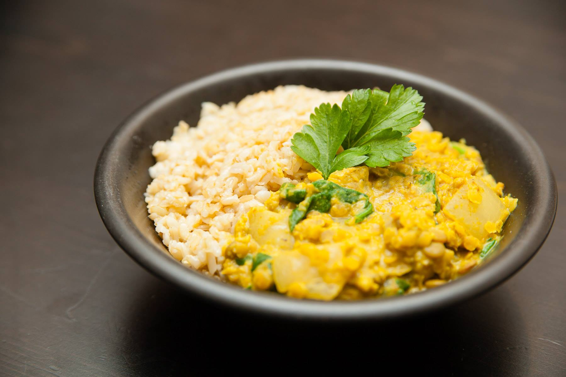 Creamy Coconut Spiced Lentils