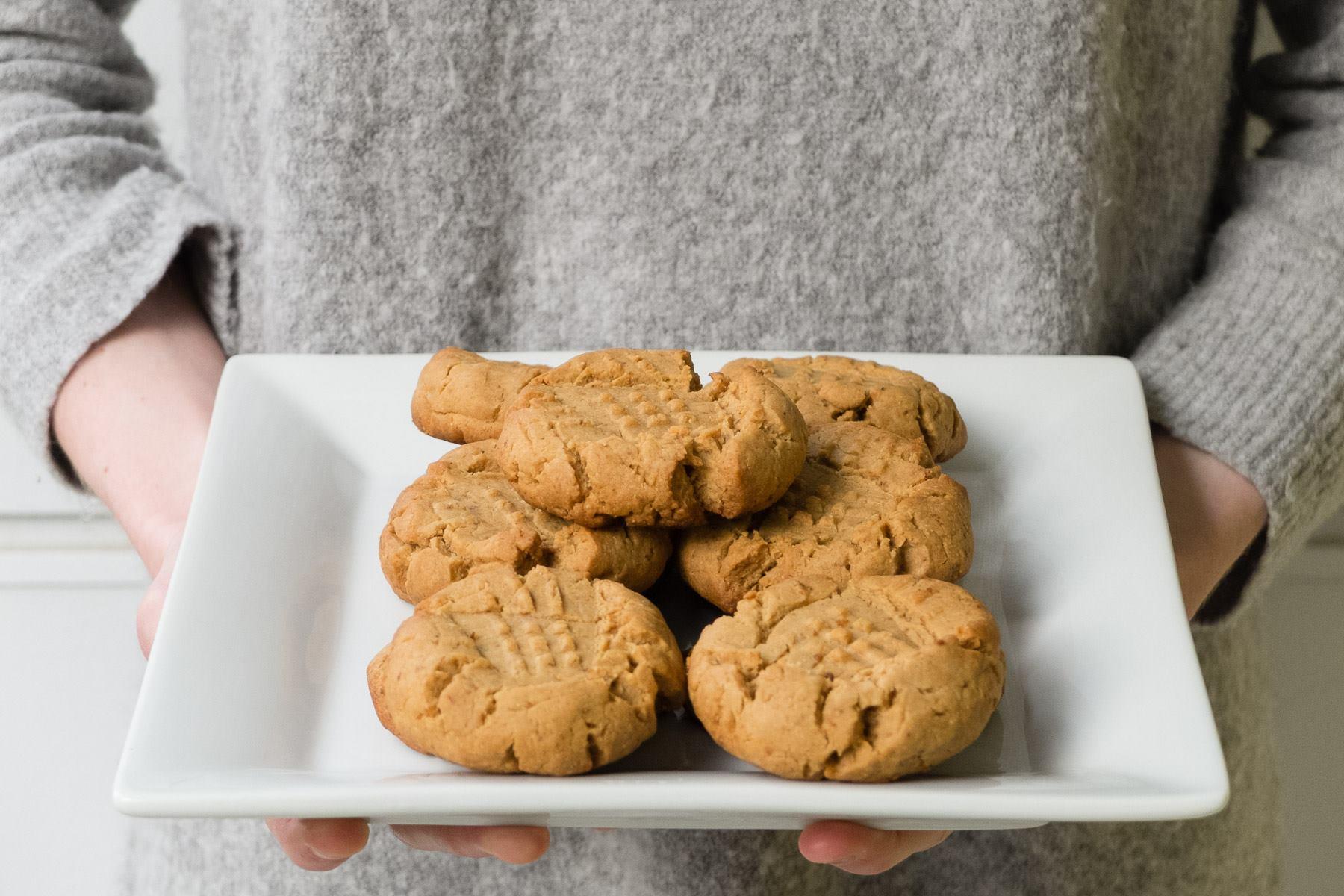 Dreamy Peanut Butter Cookies