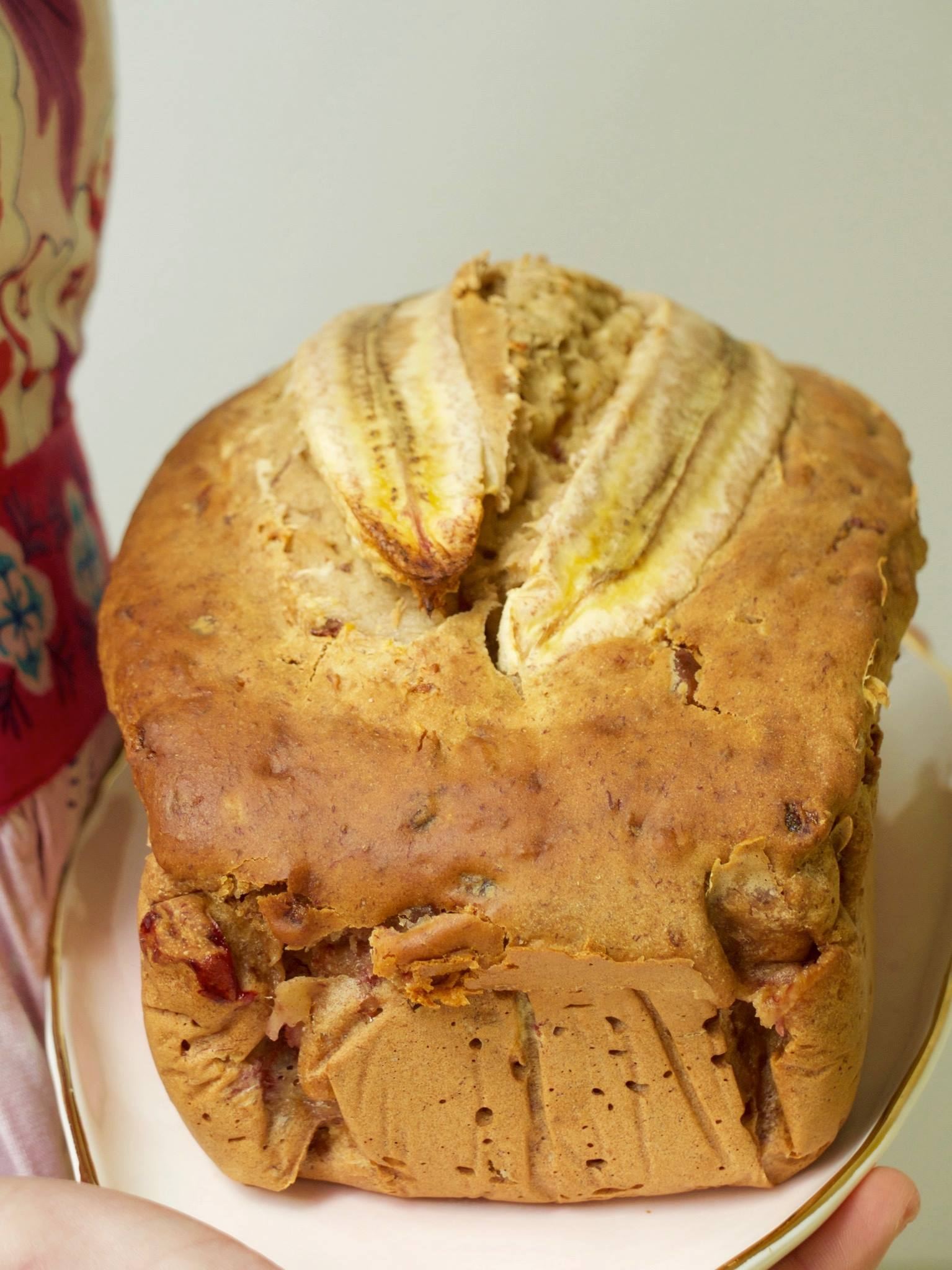 Date-Sweetened Banana Loaf