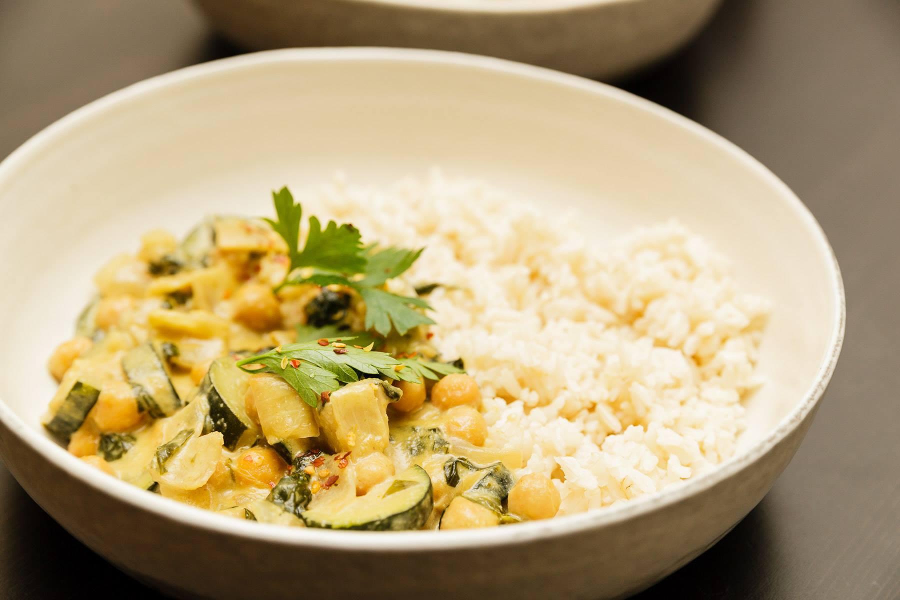 Creamy Thai Green Curry