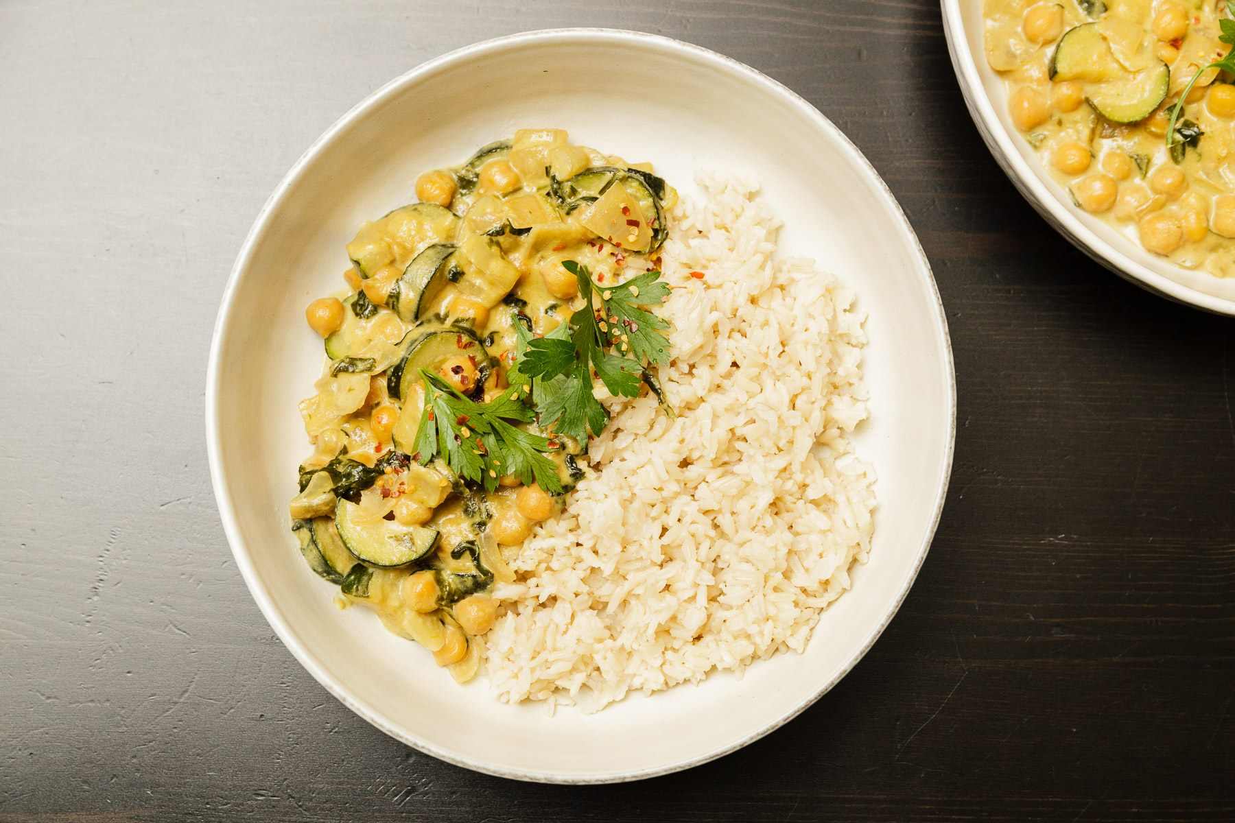 Creamy Thai Green Curry