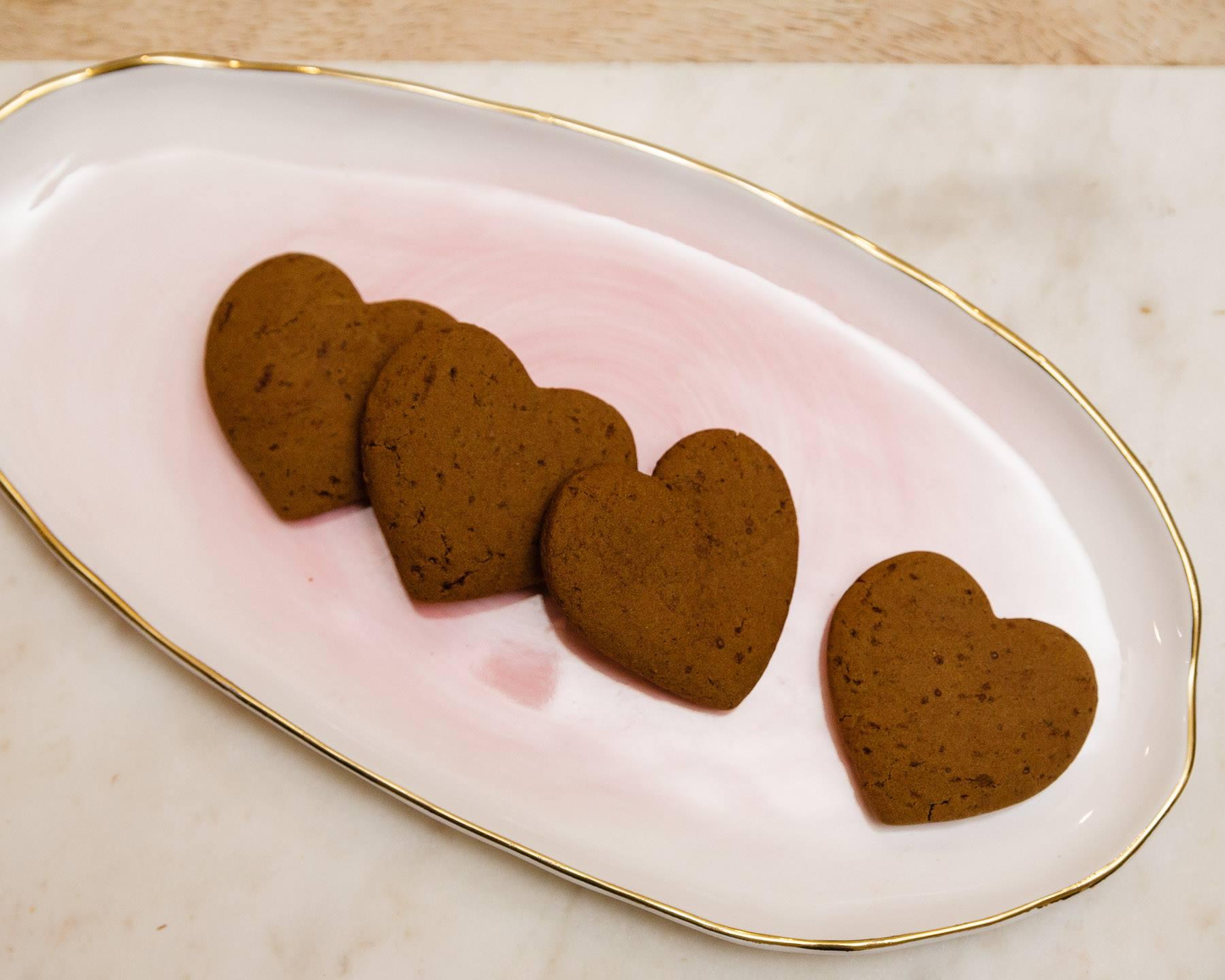 Danish Ginger Cookies