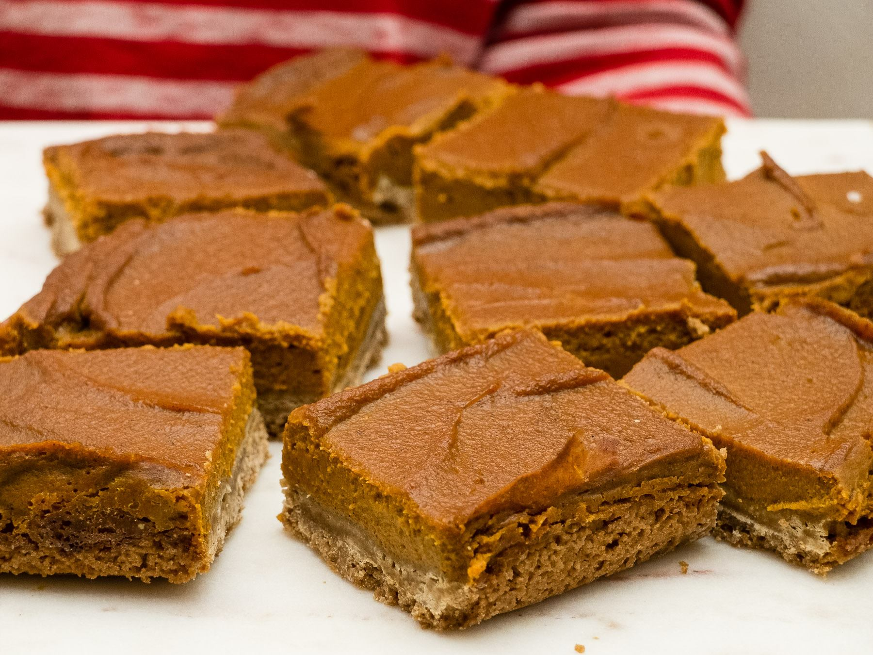 Graham Cracker Crusted Pumpkin Pie Bars