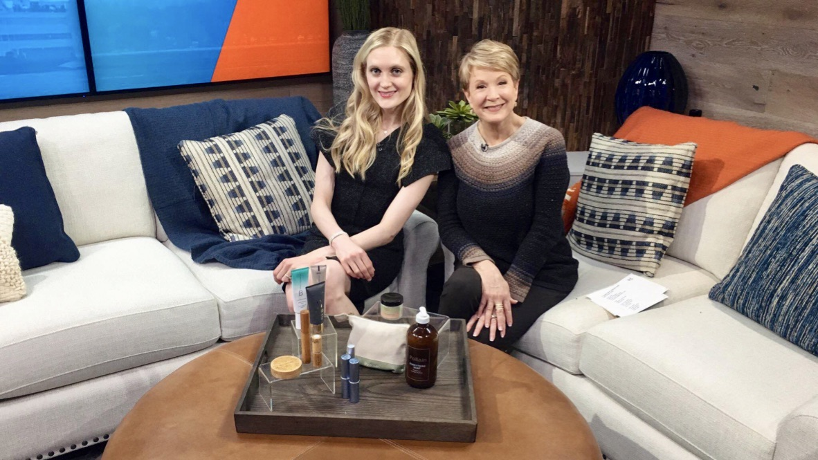 Talking About Sustainable Beauty Brands on New Day Northwest