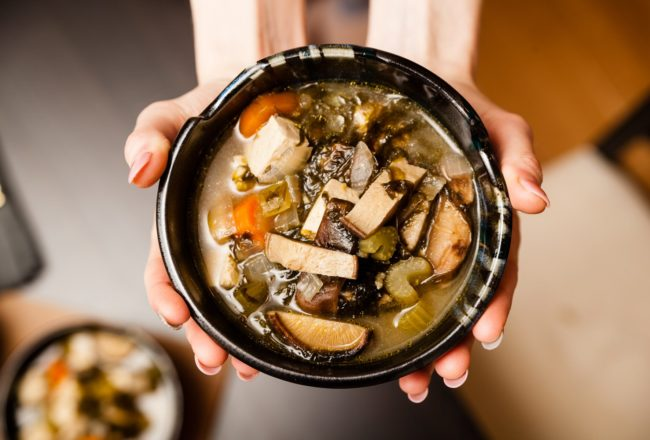 OKINAWIN-INSPIRED MISO SOUP