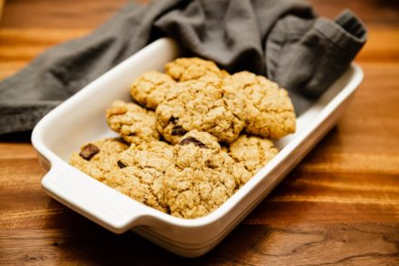 OATMEAL, WALNUT, CHOCOLATE CHIP COOKIES